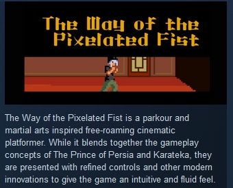 The Way of the Pixelated Fist STEAM KEY REGION FREE