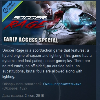 Soccer Rage ( Steam Key / Region Free )
