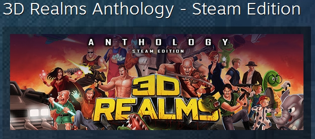 3D Realms Anthology Steam Edition 32 IN 1 STEAM GLOBAL