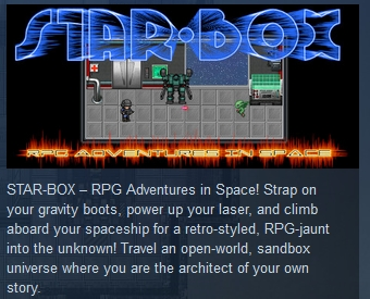 STAR-BOX: RPG Adventures in Space STEAM KEY GLOBAL