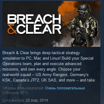 Breach & Clear ( Steam Key / Region Free )