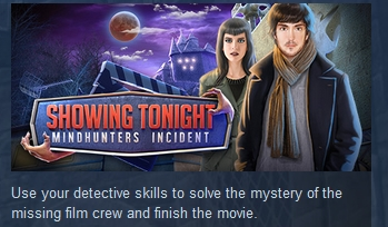 Showing Tonight: Mindhunters Incident STEAM KEY GLOBAL