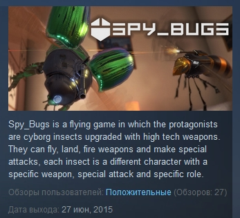 Spy Bugs ( Steam Key / Region Free ) GLOBAL ROW