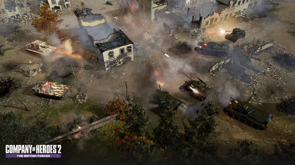 Company of Heroes 2 The British Forces STEAM KEY LICENS