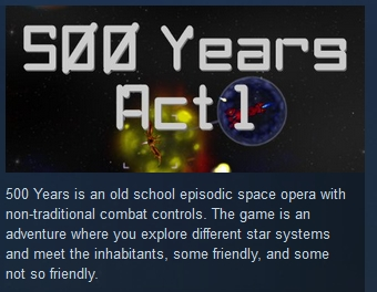 500 Years Act 1 ( Steam Key / Region Free ) GLOBAL