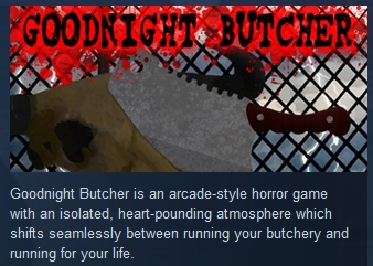 Goodnight Butcher  ( Steam Key / Region Free ) GLOBAL