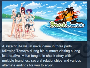 Beach Bounce STEAM KEY REGION FREE GLOBAL ROW