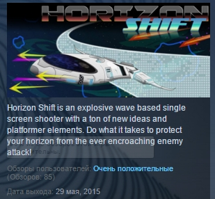 Horizon Shift  ( Steam Key / Region Free ) GLOBAL ROW