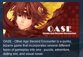 OASE - Other Age Second Encounter STEAM KEY REGION FREE