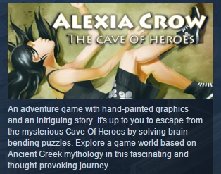 Alexia Crow and the Cave of Heroes STEAM KEY GLOBAL ROW