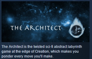 The Architect ( Steam Key / Region Free ) GLOBAL ROW