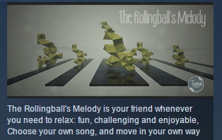 The Rollingballs Melody  ( Steam Key / Region Free )