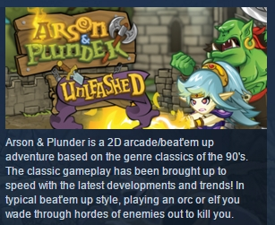 Arson and Plunder: Unleashed ( Steam Key / Region Free)