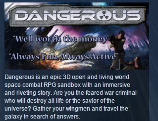 Dangerous ( Steam Key / Region Free ) GLOBAL ROW