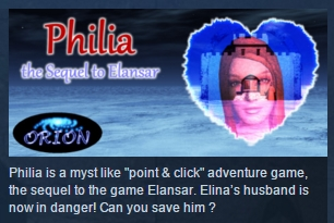 Philia the Sequel to Elansar STEAM KEY REGION FREE ROW