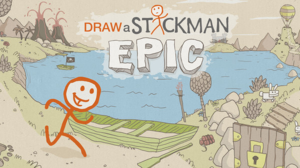 Draw a Stickman: EPIC STEAM KEY REGION FREE GLOBAL