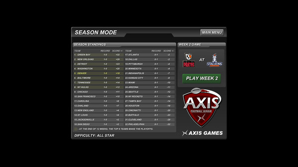 Axis Football 2015 STEAM KEY REGION FREE GLOBAL ROW