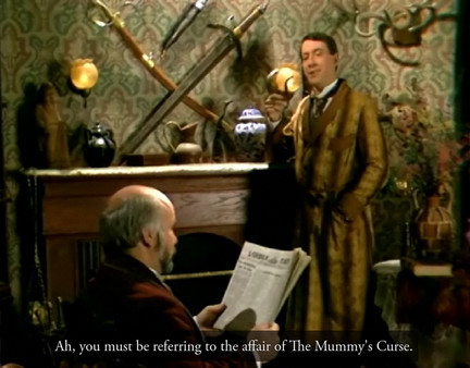 Sherlock Holmes Consulting Detective: Mummy´s Curs