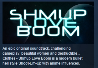 Shmup Love Boom  ( Steam Key / Region Free ) GLOBAL ROW