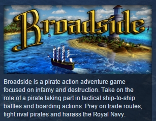 Broadside ( Steam Key / Region Free ) GLOBAL ROW