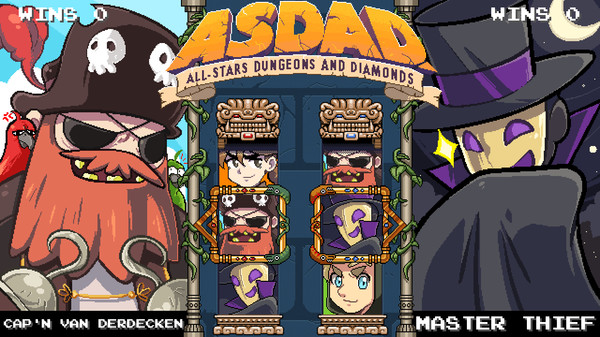 ASDAD: All-Stars Dungeons and Diamonds STEAM KEY GLOBAL