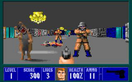 Wolfenstein 3D STEAM KEY RU+CIS LICENSE 💎