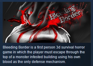 Bleeding Border ( Steam Key / Region Free ) GLOBAL ROW