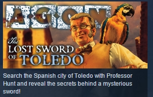 AGON - The Lost Sword of Toledo STEAM KEY GLOBAL