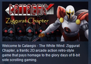 Cataegis : The White Wind ( Steam Key / Region Free )