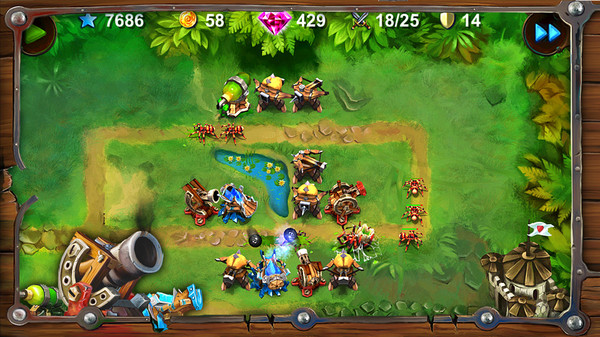 Goblin Defenders: Steel'n' Wood STEAM KEY GLOBAL ROW