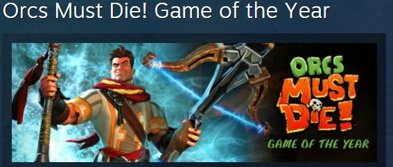 Orcs Must Die! Game of the Year ( STEAM GIFT RU + CIS )
