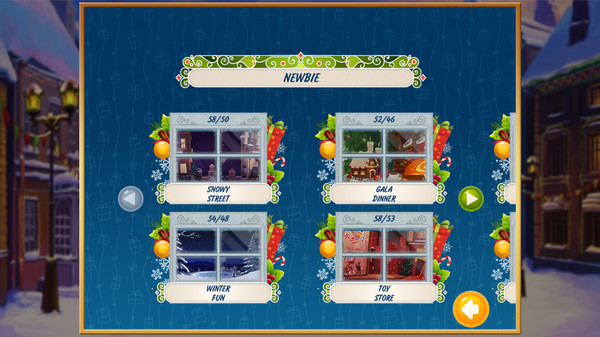 Solitaire Christmas. Match 2 Cards STEAM KEY GLOBAL ROW