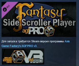 Axis Game Factory´s AGFPRO Fantasy Side-Scroller Player