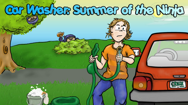 Car Washer: Summer of the Ninja STEAM KEY GLOBAL ROW