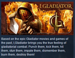 I, Gladiator ( Steam Key / Region Free ) GLOBAL ROW