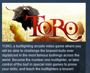 Toro  ( Steam Key / Region Free ) GLOBAL ROW