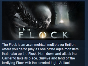 The Flock ( Steam Key / Region Free ) GLOBAL ROW