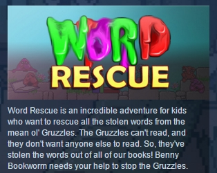 Word Rescue ( Steam Key / Region Free ) GLOBAL ROW