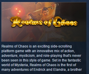 Realms of Chaos ( Steam Key / Region Free ) GLOBAL ROW