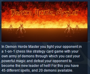 Demon Horde Master ( Steam Key / Region Free ) GLOBAL