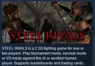 STEEL RIVALS  ( Steam Key / Region Free ) GLOBAL ROW