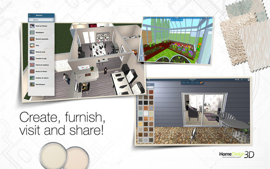 Home Design 3D ( Steam Key / Region Free ) GLOBAL ROW
