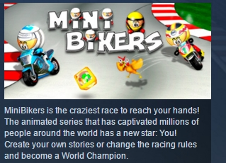 MiniBikers ( Steam Key / Region Free ) GLOBAL ROW