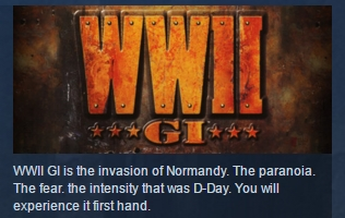 World War II GI ( Steam Key / Region Free ) GLOBAL ROW