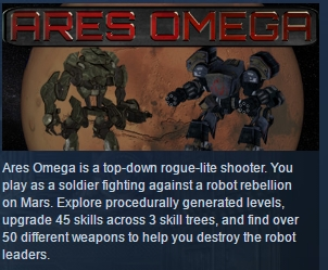 Ares Omega  ( Steam Key / Region Free ) GLOBAL ROW