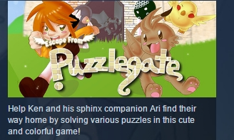 Escape from Puzzlegate STEAM KEY REGION FREE GLOBAL ROW