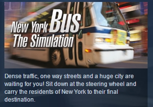 New York Bus Simulator  ( Steam Key / Region Free )