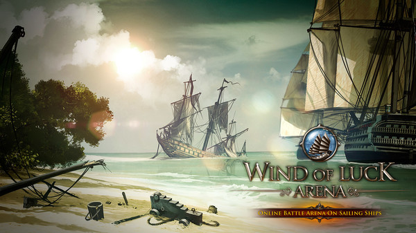 Wind of Luck: Arena - Caribbean Captain pack STEAM ROW