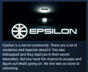 Epsilon corp. ( Steam Key / Region Free ) GLOBAL ROW