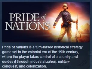Pride of Nations ( Steam Key / Region Free ) GLOBAL ROW